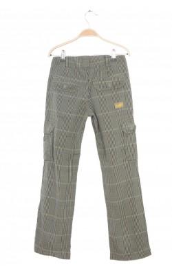 Pantaloni din bumbac O'Neill, talie ajustabila, 12 ani