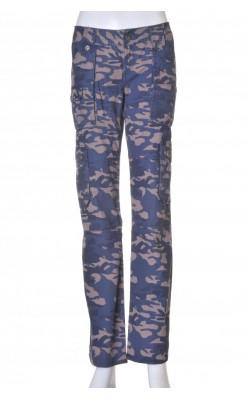 Pantaloni Only, print camuflaj, marime 36
