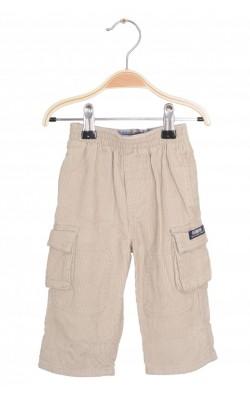 Pantaloni OshKosh, velur, 3-6 luni
