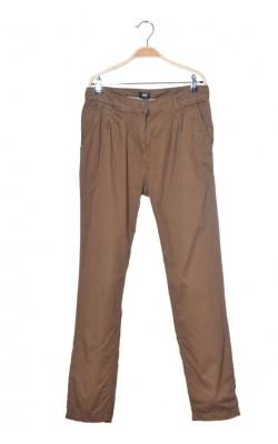 Pantaloni pana cu pense H&M, marime 40