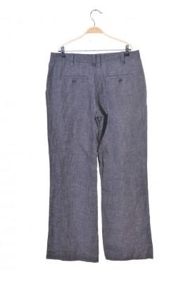 Pantaloni de in H&M, talie normala, croi drept, marime 44