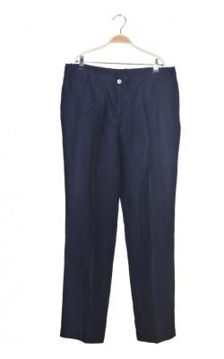 Pantaloni panza de in New House, bleumarin, marime 46