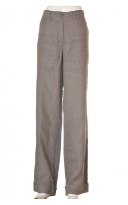 Pantaloni panza in Just B., wide leg, marime L
