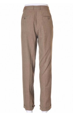 Pantaloni Perry Ellis, stofa vascoza si in, marime 36
