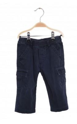 Pantaloni cargo culoare bleumarin Place, 18 luni