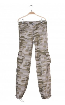Pantaloni print camuflaj Heartquake by Lindex, 13 ani