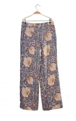 Pantaloni print floral H&M, marime 40/42
