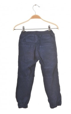 Pantaloni pull-on velur Polarn O.Pyret, talie ajustabila, 5 ani