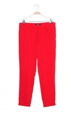 Pantaloni rosii pana la glezna Bik Bok, marime L