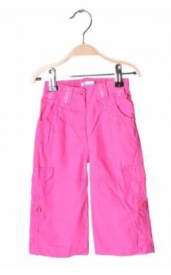 Pantaloni roz Early Days, lungime ajustabila, 6-12 luni