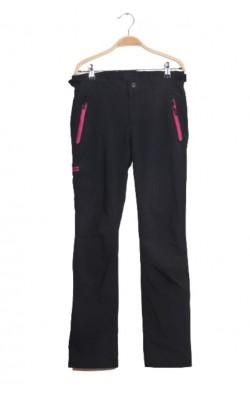 Pantaloni schi Vikafjell, softshell captusit, talie ajustabila, marime 34