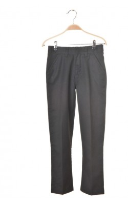 Pantaloni scoala baieti Next, talie ajustabila, 10 ani