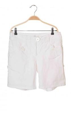 Pantaloni scurti albi H&M, marime 38