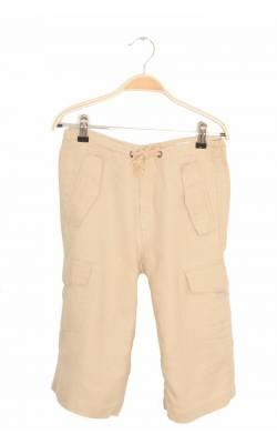 Pantaloni scurti bej de in H&M L.O.G.G., siret talie, 8-9 ani