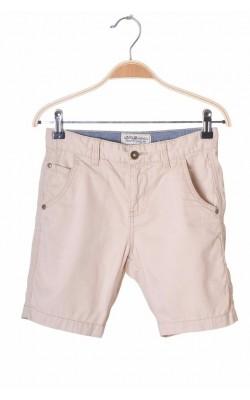 Pantaloni scurti bumbac bej Kappahl, talie ajustabila, 9 ani