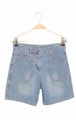 Pantaloni scurti denim Alive, cusaturi roz , 12 ani