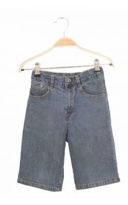 Pantaloni scurti denim Calvin klein, talie ajustabila, 6 ani