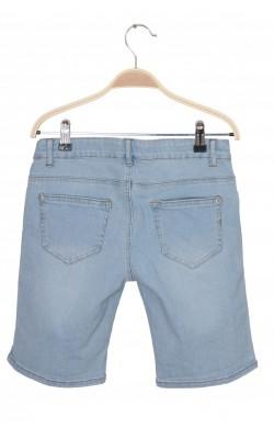 Pantaloni scurti denim Cubus, talie ajustabila, 14 ani