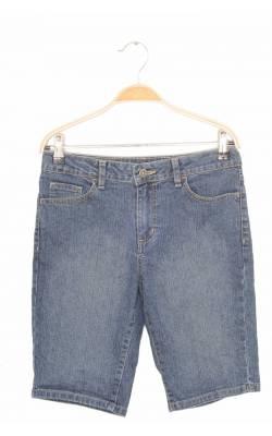 Pantaloni scurti denim Faded Glory,  talie ajustabila, 14 ani