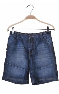 Pantaloni scurti denim George, talie ajustabila, 9-10 ani