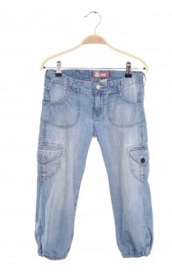 Pantaloni capris denim H&M, 10-11 ani
