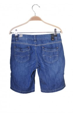 Pantaloni scurti denim Ikks, talie ajustabila, 12 ani