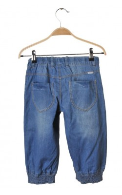 Pantaloni scurti denim Name It, talie ajustabila, 10-11 ani
