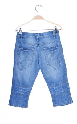 Pantaloni scurti denim Name It, talie ajustabila, 11 ani