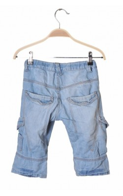 Pantaloni scurti denim Name It, talie ajustabila, 5-6 ani