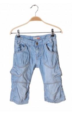 Pantaloni scurti denim Name It, talie ajustabila, 5-6 ani