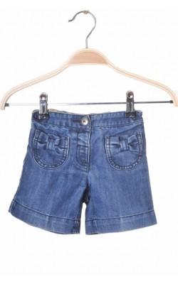 Pantaloni scurti denim Next, talie ajustabila, 6-9 luni