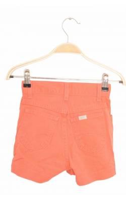 Pantaloni scurti denim oranj Lee, 7 ani