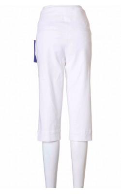 Pantaloni scurti denim stretch alb Baccini, marime 40