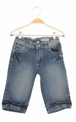Pantaloni scurti denim stretch Crush, talie ajustabila, 11 ani