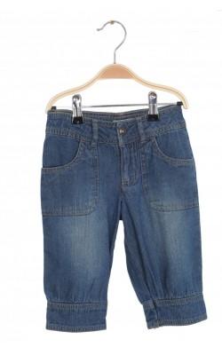 Pantaloni scurti denim Vertbaudet, talie ajustabila, 4 ani