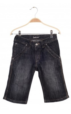 Pantaloni scurti denim negru prespalat Detroit, 9 ani