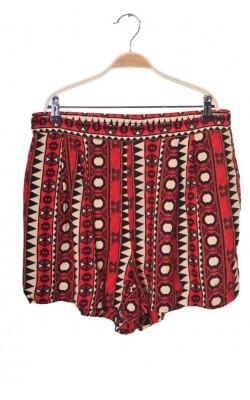 Pantaloni scurti din vascoza H&M, marime 44