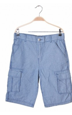 Pantaloni scurti F&F, talie ajustabila, 13-14 ani