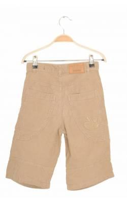 Pantaloni scurti H&M Dubbster, velur, 9 ani