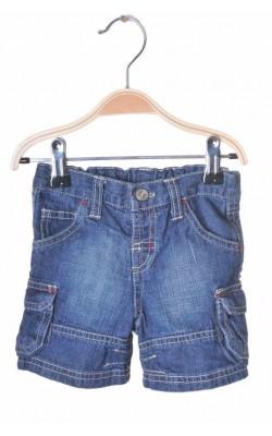 Pantaloni scurti Matalan, denim, talie ajustabila, 0-3 luni
