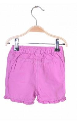 Pantaloni scurti M&Co, bumbac, 6-9 luni