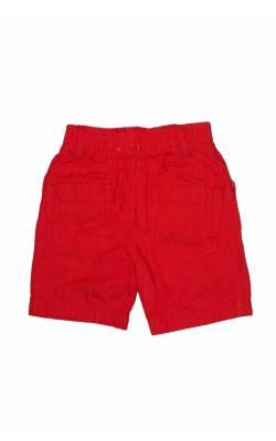 Pantaloni scurti Orchestra, culoare rosie, 12 luni