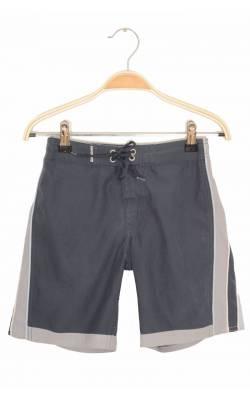 Pantaloni scurti plaja Quicksilver, bleumarin cu gri, 6 ani