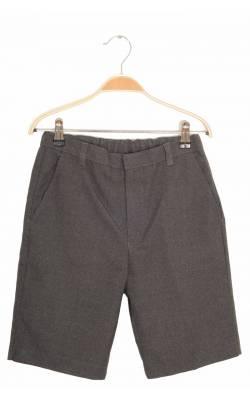 Pantaloni scurti scoala din stofa gri Marks&Spencer, 11 ani