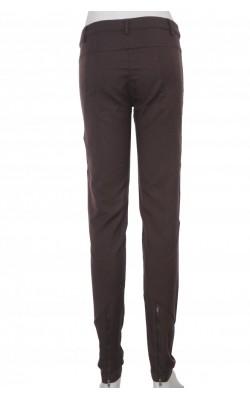 Pantaloni skinny Duva, fermoare decorative, marime S