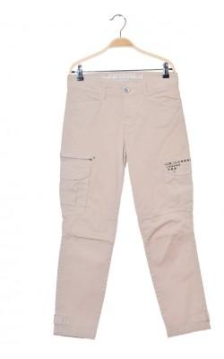 Pantaloni slim cargo Rosner casual, marime 38
