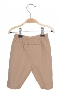 Pantaloni vatuiti Smile, bumbac eco, 0-1 luni