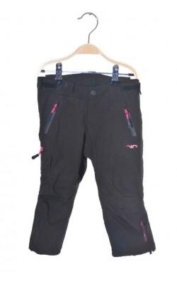 Pantaloni softhsell Nothpeak, talie ajustabila, 2 ani