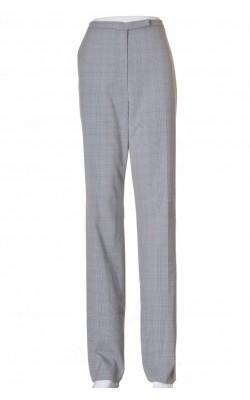 Pantaloni stofa dungi bej Liz Claiborne, marime 42