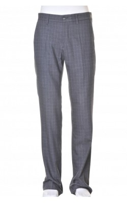Pantaloni stofa lana Bruuns Bazaar, marime 48